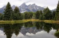 Teton Reflection by David Kocherhans