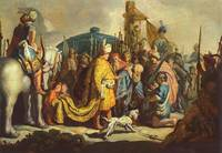 David with Goliaths Head before Saul