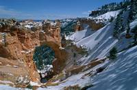 Natural Bridge in Bryce Canyon National Park, Utah
