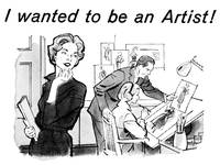 1959 Artist -- mail-order art school ad
