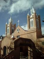 Church Old Town Albuquerque