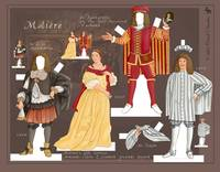 A Moliere Paper Doll