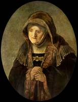 Portrait of Rembrandts Mother