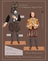 William Shakespeare paper doll, 001