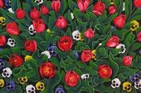 The Tulip Garden by Gayle Faucette Wisbon
