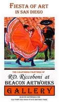 Fiesta of Art Poster from RD Riccoboni