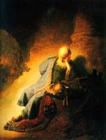 The Prophet Jeremias Mourning