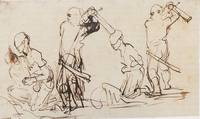 Two Studies for a Beheading