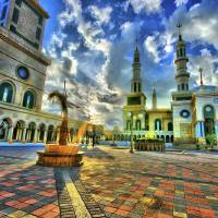 IslamicCenter-GreatMosque-Samarinda-Colour04 Art Prints & Posters by bartmaskphoto