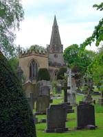St Anne's Church and Churchyard, Baslow  (15892-RD