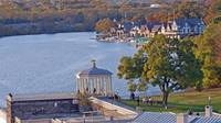 Overlooking Boathouse Row from Art Museum