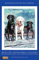 Beacon Artworks Riccoboni Dog Poster Print