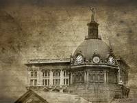 Antiqued Courthouse
