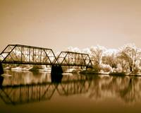 Infrared Benton Bridge