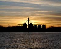 Sunset on Grain Elevator