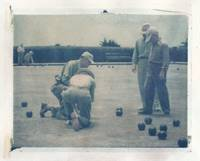 1950's Bocce Ball Polaroid Image Transfer