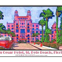 """""""Don Cesar Hotel, St Pete Beach, Florida"""" by Automotography"""