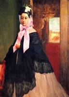 Portrait of Therese Degas