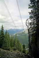 Climbing Sulphur Mountain, High Rockies,1993 by Priscilla Turner