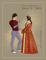 Costume Plate: Romeo and Juliet 01