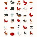"""""""Mid-Century Modern Collection (Neutral)"""" by jamesprovost"""
