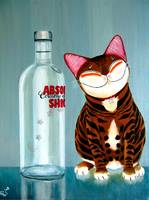 cat-art-by-catmaSutra - Absolutely Shiok!