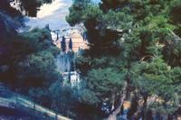 View of Church at Daphni, Greece, Spring 1960 by Priscilla Turner