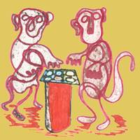 Two Monkeys Playing Cluedo