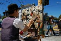 Haight St. Painter