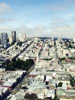 looking out from coit tower
