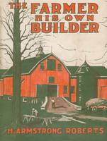 1918 Farmer/Builder Book Jacket; art by 'W.F.T.'