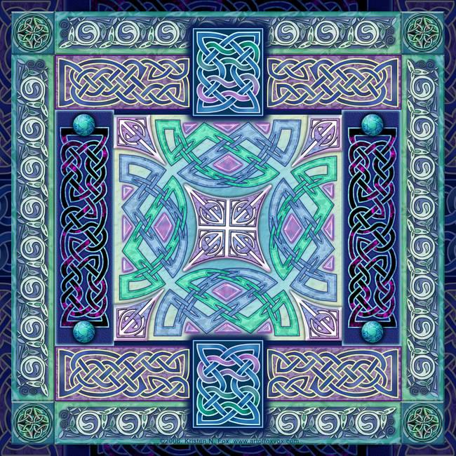 Celtic Cross Painting by Jim Harris   Celtic Fine Art Prints