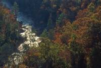 Fall in Little River Canyon