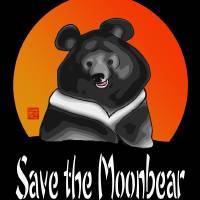 SAVE THE MOONBEAR by GRAFFITIMAGERY Sandra