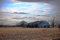 Beautiful Sky, Vintage Barn