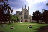 Winchester Cathedral 6 by Priscilla Turner