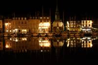 Reflections in Honfleur Harbor