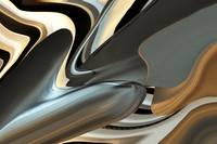 abstract silver