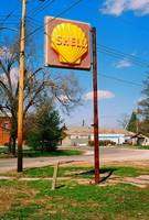 Old Shell Station Sign