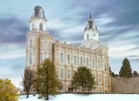 Manti Temple / Winter