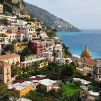 """Positano on the Amalfi Coast"" by Nicemree"
