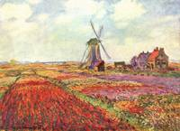 m331_Claude_Monet_Tulips in Holland