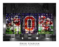Ohio Stadium Grand Rotunda Stained Glass