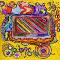 Colorful Abstract in Crayon