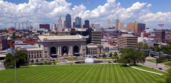 Union Station and the Kansas City Skyline