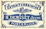 Deniset Crate Label