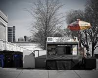 Chicago Hot Dog Stand April 09