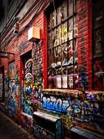 Graffiti Alley - Ann Arbor, Michigan