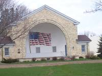 Patriotic Band Shelter