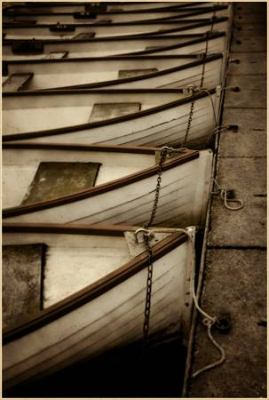Row Boats at the Versailles Palace
